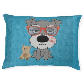 Dog Bed Schnauzer Large Dog Bed