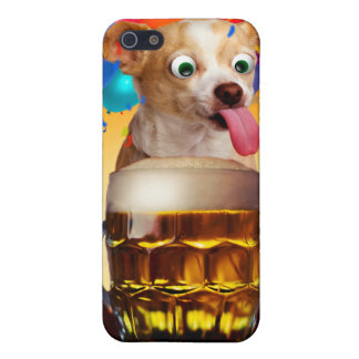 dog beer-funny dog-crazy dog-cute dog-pet dog iPhone 5/5S cover