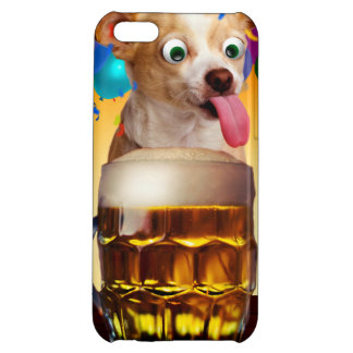 dog beer-funny dog-crazy dog-cute dog-pet dog iPhone 5C case