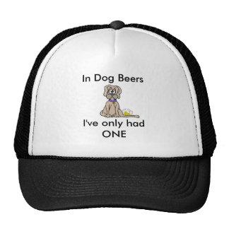 Dog Beers Trucker Hat
