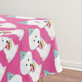 Dog Birthday Tablecloth