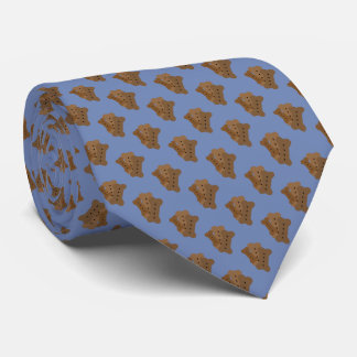 Dog Biscuit Design Tie