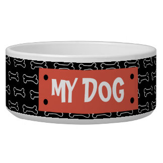 Dog Bone and Tag Personalized