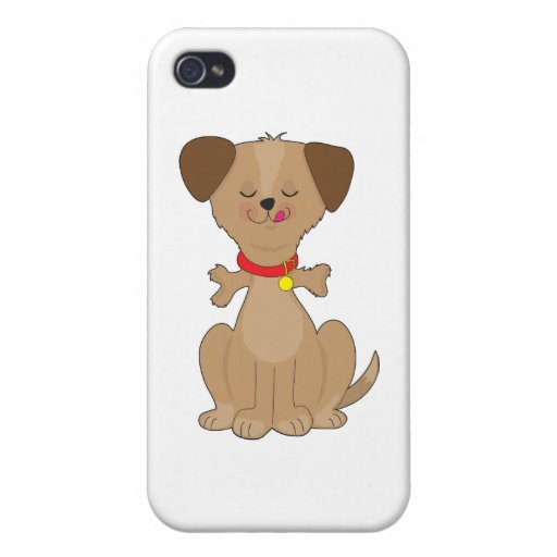 Dog Bone iPhone 4 Cases