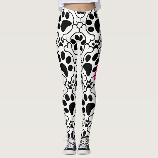 Dog Bone ~n~ Paws Leggings