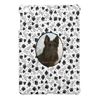 Dog Bone Print Personalized Pet Photo iPad Mini Case