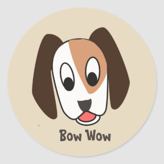 Dog Bow Wow - Good job Sticker