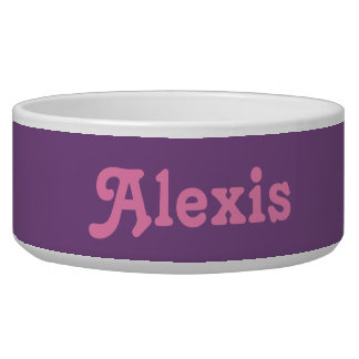 Dog Bowl Alexis