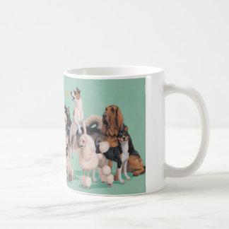 Dog Breed Diversity Classic White Coffee Mug