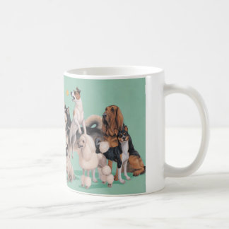 Dog Breed Diversity Coffee Mug
