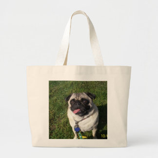 dog breed large tote bag