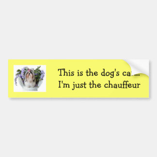 Dog Bumper Sticker