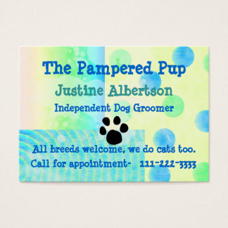 Dog Business, Business Cards