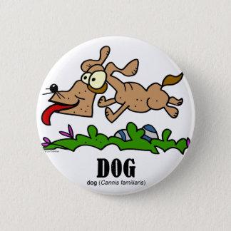 Dog by Lorenzo © 2018 Lorenzo Traverso 2 Inch Round Button