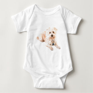 Dog Canine pets animals pet lovers kennels Baby Bodysuit