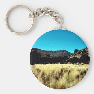 Dog Canyon Keychain