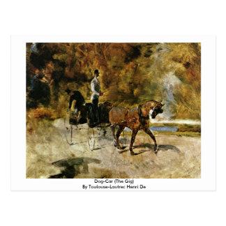 Dog-Car (The Gig) By Toulouse-Lautrec Henri De Postcard