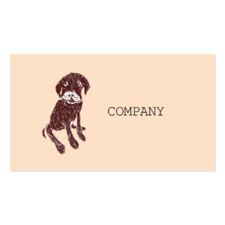 DOG CARE PROFESSIONAL BUSINESS CARD