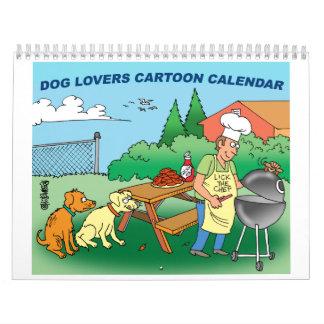Dog Cartoon Calendar