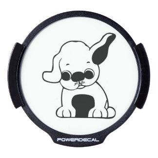 Dog cartoon LED window decal