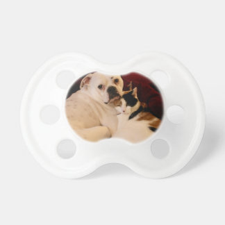 Dog Cat Cuddle Baby Pacifiers