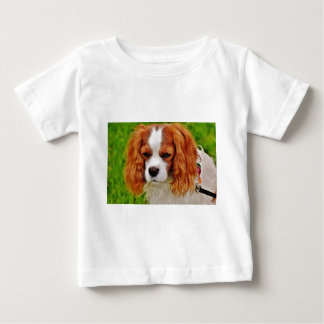 Dog Cavalier King Charles Spaniel Funny Pet Animal Baby T-Shirt