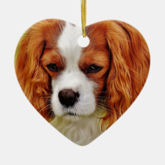 Dog Cavalier King Charles Spaniel Funny Pet Animal Ceramic Ornament