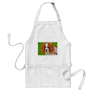 Dog Cavalier King Charles Spaniel Funny Pet Animal Standard Apron