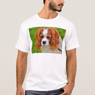 Dog Cavalier King Charles Spaniel Funny Pet Animal T-Shirt