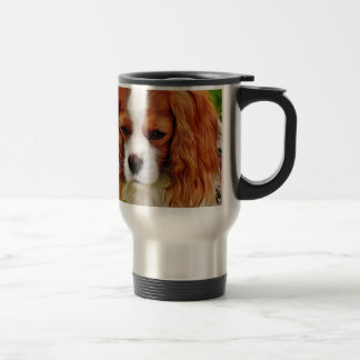 Dog Cavalier King Charles Spaniel Funny Pet Animal Travel Mug