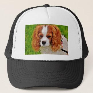 Dog Cavalier King Charles Spaniel Funny Pet Animal Trucker Hat