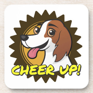 Dog - Cheer Up! Coasters