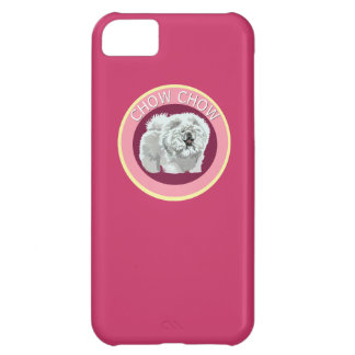 Dog chow chow case for iPhone 5C