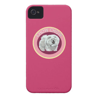 Dog chow chow iPhone 4 Case-Mate case