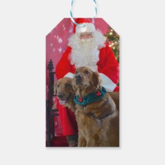 Dog Christmas Gift Tag, Custom Gift Tags
