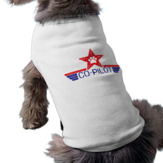 Dog Co-Pilot Doggie T-shirt