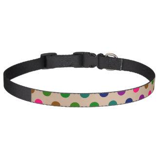 Dog Collar Polka Dots
