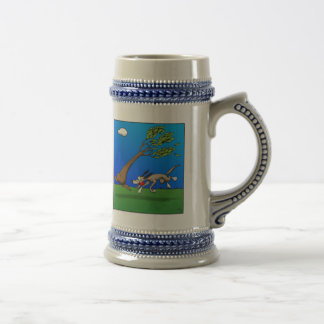 Dog Comic Beer Stein