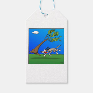 Dog Comic Pack Of Gift Tags