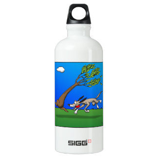 Dog Comic Water Bottle