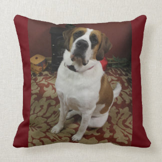 Dog Command Pillow- Sit Throw Pillow