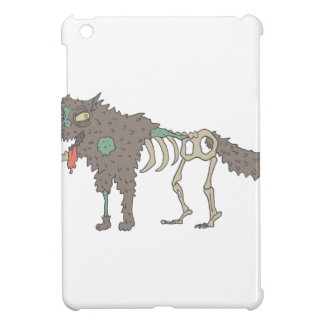Dog Creepy Zombie With Rotting Flesh Outlined Hand iPad Mini Cover
