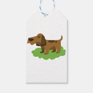 dog cute cartoon design gift tags