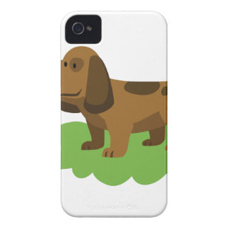 dog cute cartoon design iPhone 4 case