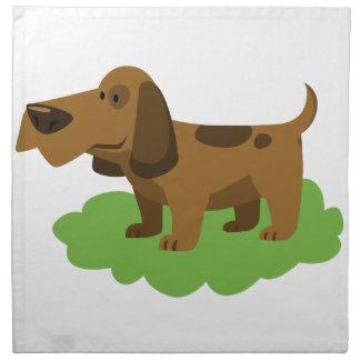 dog cute cartoon design napkin