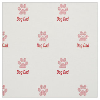 Dog Dad Fabric