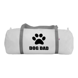 Dog Dad Paw Gym Bag