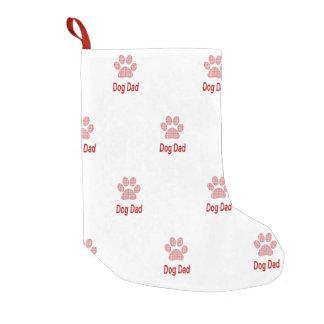 Dog Dad Small Christmas Stocking