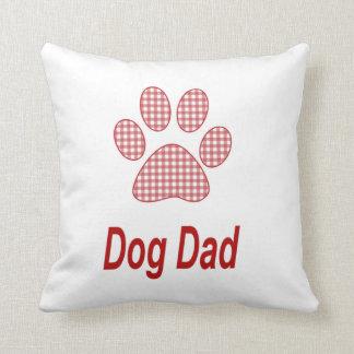 Dog Dad Throw Pillow