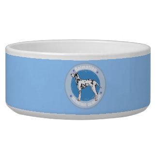 Dog Dalmatian Pet Food Bowl